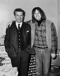 Scott and Neil Young